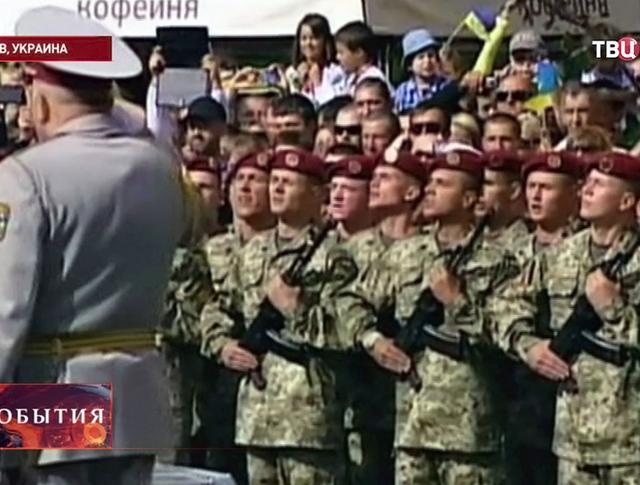 Военный парад в честь независимости Украины