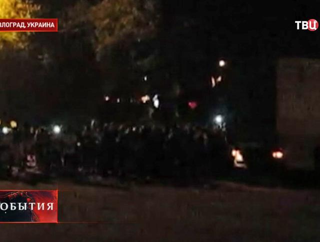 В Павлограде сносят памятник Ленину