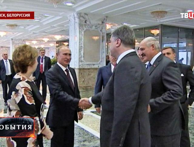 Встреча лидеров Таможенного союза, Украины и представителей ЕС в Минске