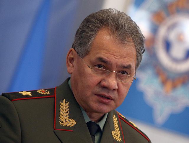 Министр обороны РФ Сергей Шойгу
