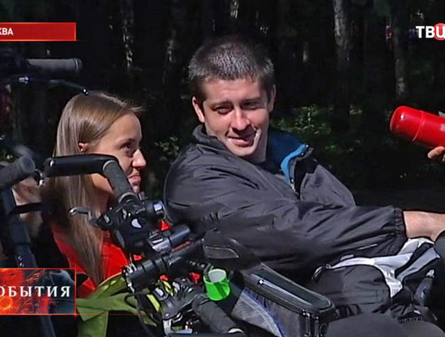"Акция ""Велознакомства"" в Москве"