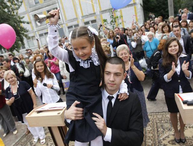 В России 1 сентября - День знаний