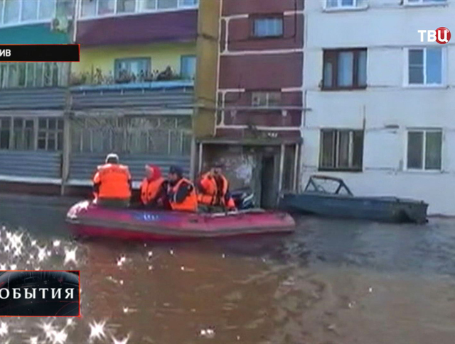 Наводнение в Горно-Алтайск