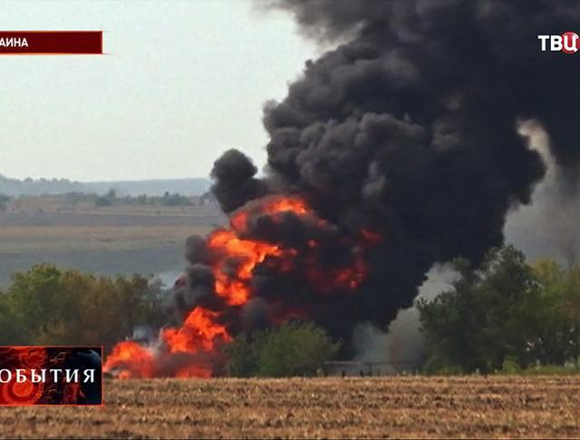 Бой на юго-востоке Украины