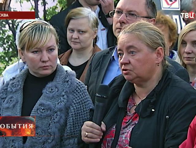 Встреча жителей в Хорошёво-Мнёвниках
