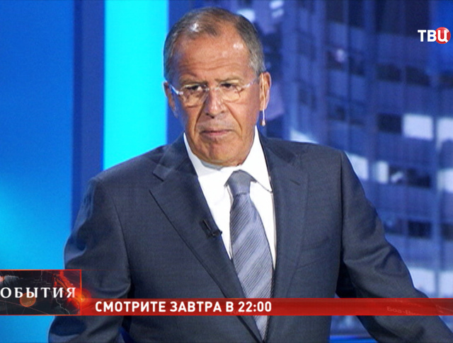 """Сергей Лавров. Программа """"Право знать!"""""""