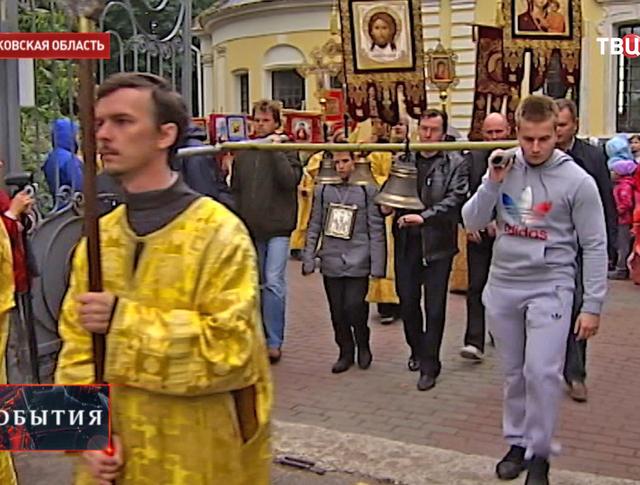 Крестный ход в память о Великой княгине Елизавете Фёдоровне