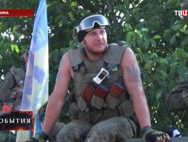 Украинские военный