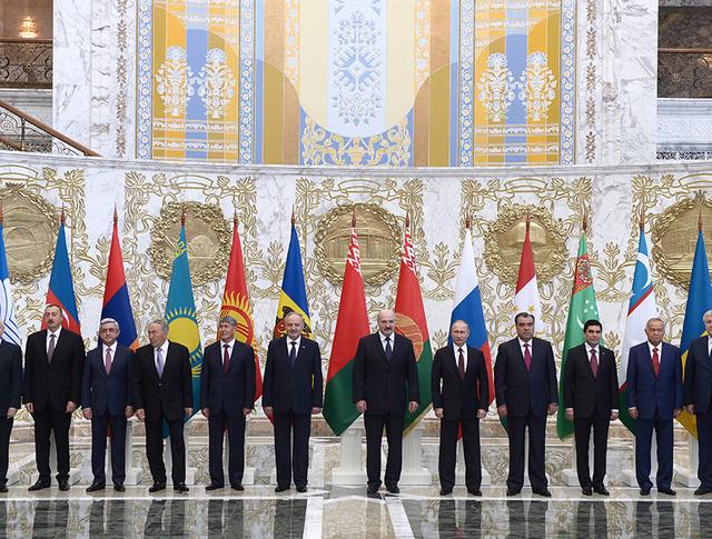 Саммит СНГ в Минске