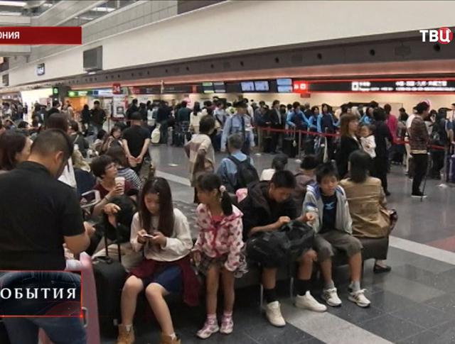 Аэропорт в Японии