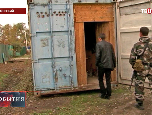 Задержание браконьеров в Приморье