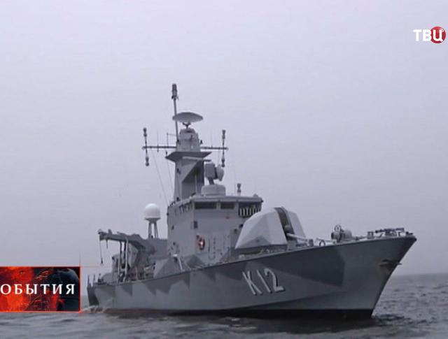 Корабль ВМС Швеции
