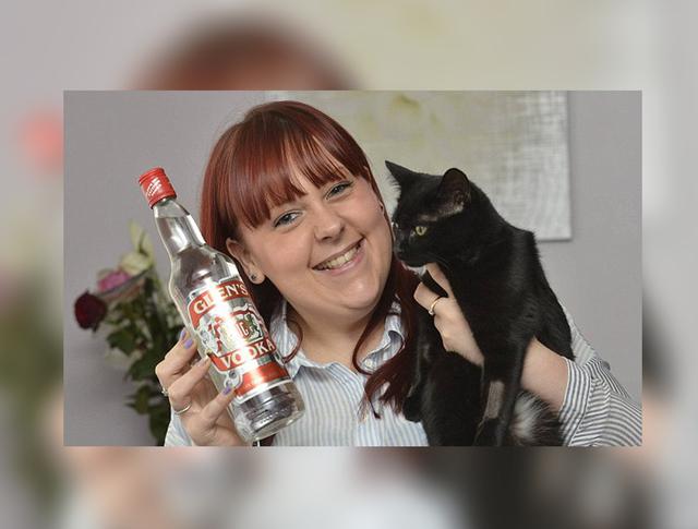 В Великобритании кошку спасли при помощи водки