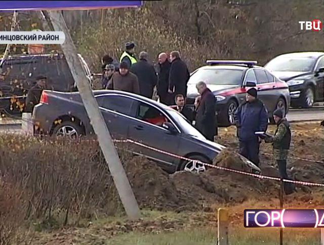 Место убийство адвоката Виталия Моисеева