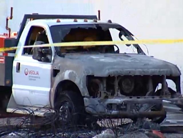 Последствия взрыва на промышленном предприятии в Канаде