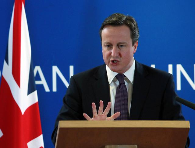 Премьер-министр Великобритании Дэвид Кемерон