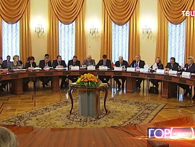 Заседание 3-х сторонней комиссии