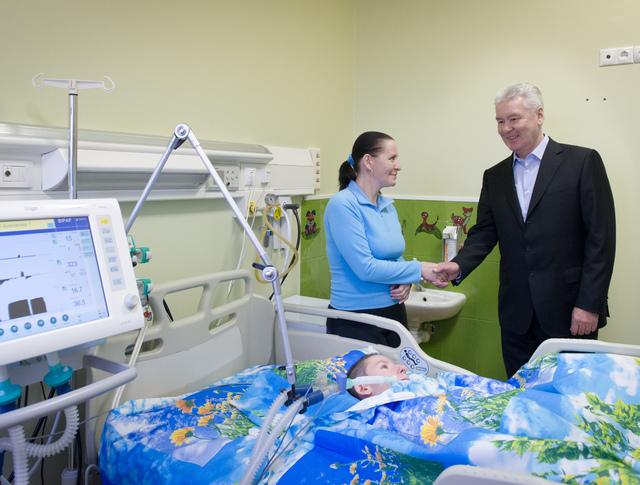Посещение центра медицинской помощи детям