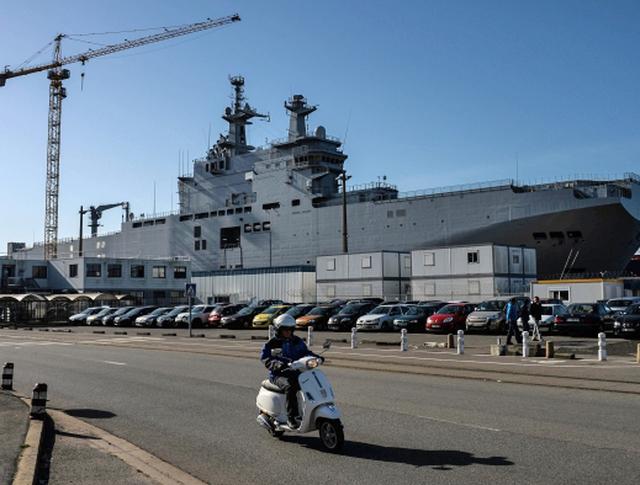 """Корабль """"Владивосток"""" класса """"Мистраль"""""""