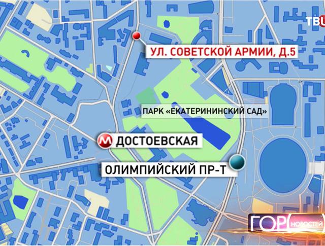 Инфографика: ул. Советской армии
