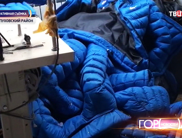 Нелегальный швейных цех