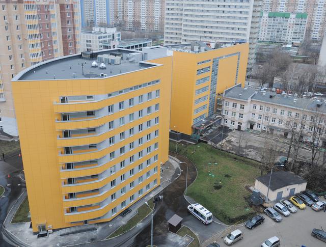 Новый корпус поликлиники
