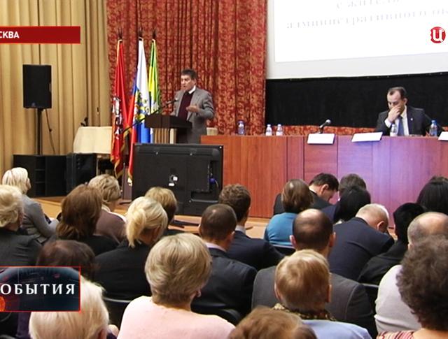 Встреча с жителями ЮВАО Москвы