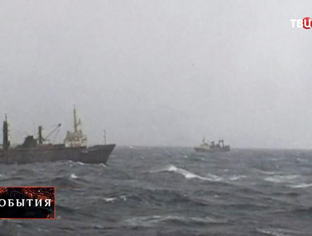 Поисковая операция в море