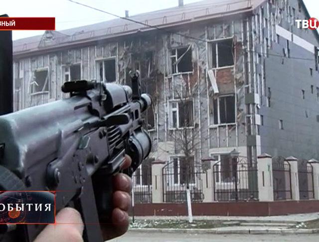 Спецоперация в Грозном