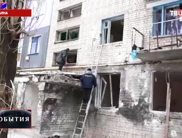 Восстановление жилого дома в Донецкой области