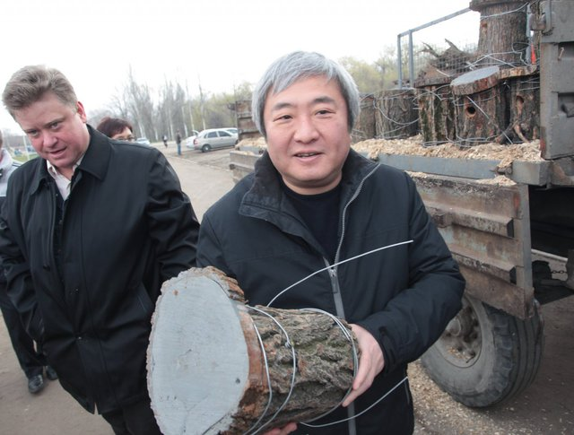 Мэр Запорожья Александр Син