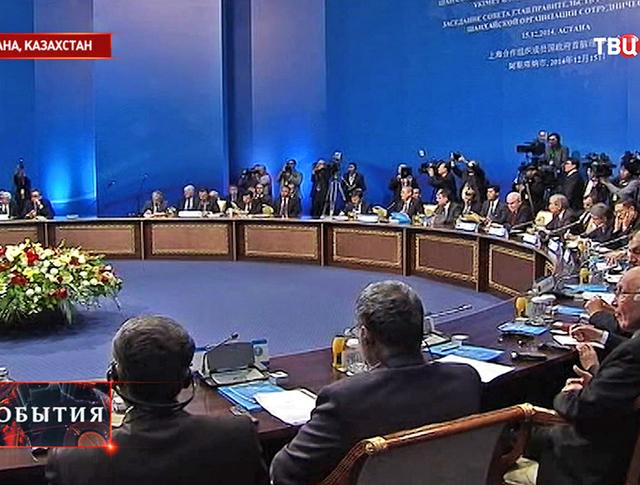 Заседание Совета глав правительств ШОС