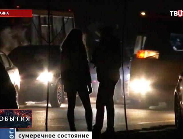 Отключение электричества на Украине