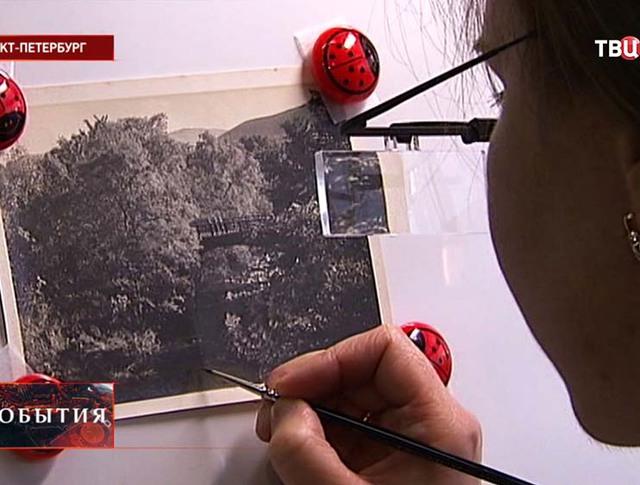 Реставрация старинных фотографий