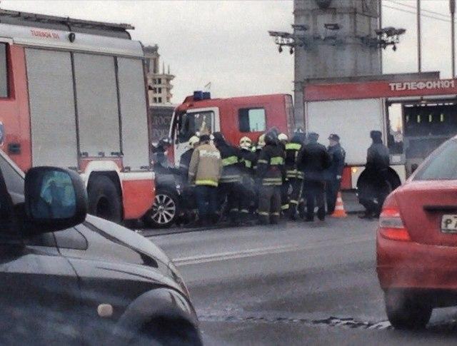 ДТП на Крымском мосту