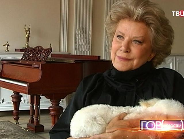 Оперная певица Елена Образцова