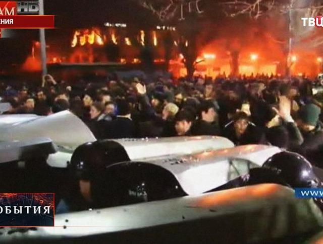 Уличные беспорядки в Армении