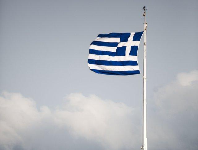 Флаг Греции