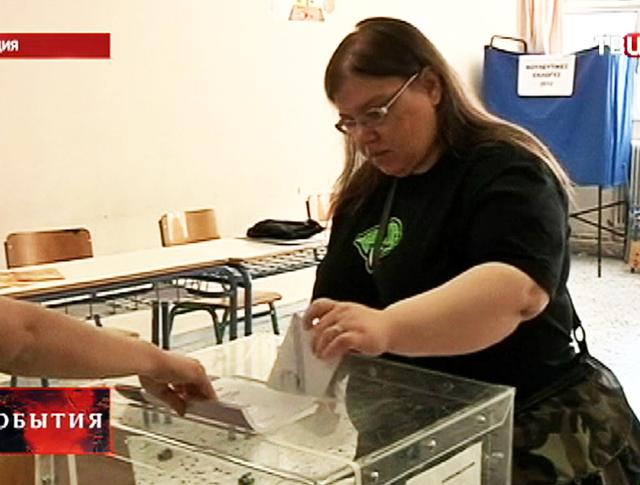 Выборы в Греции