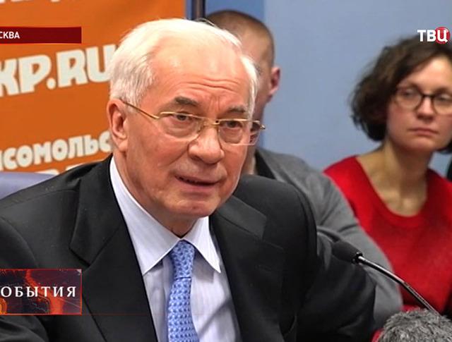 Украинский премьер Николай Азаров
