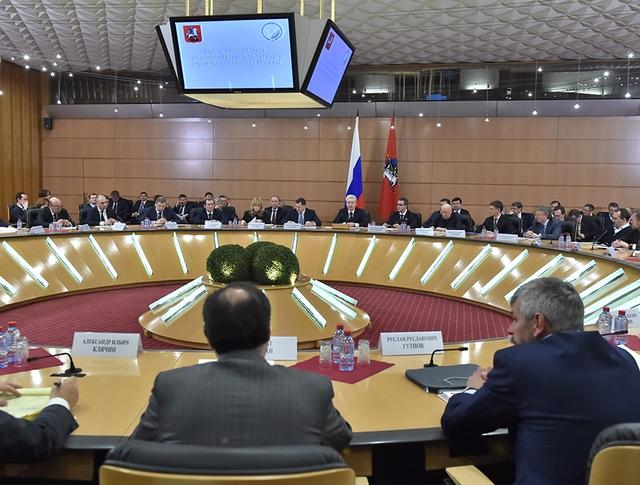 Заседание коллегии комплекса градостроительной политики Москвы
