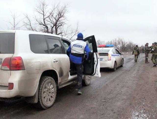 Представители ОБСЕ на юго-востоке Украины