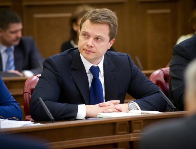 Заместитель мэра и руководитель департамента транспорта и развития дорожно-транспортной инфраструктуры города Москвы Максим Ликсутов