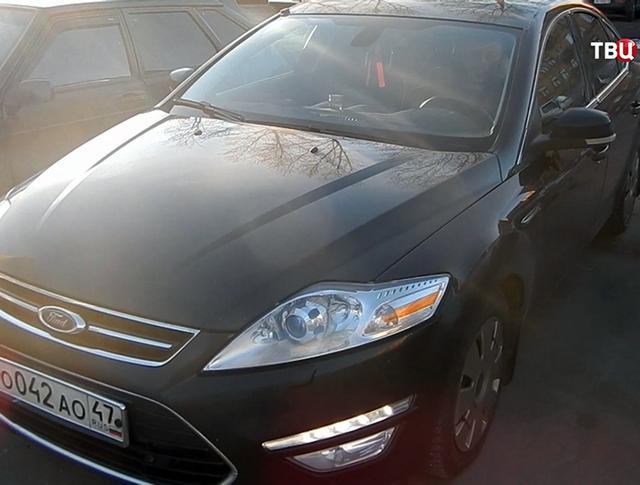 Служебный автомобиль депутата Ленинградской области на штрафстоянке