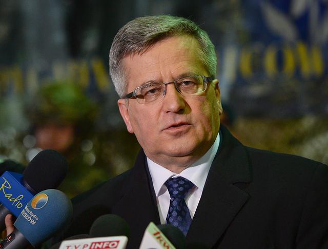 Президент Польши Бронислав Коморовский