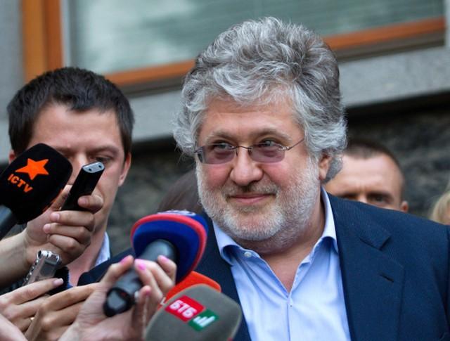 Игорь Коломойский отвечает на вопросы журналистов