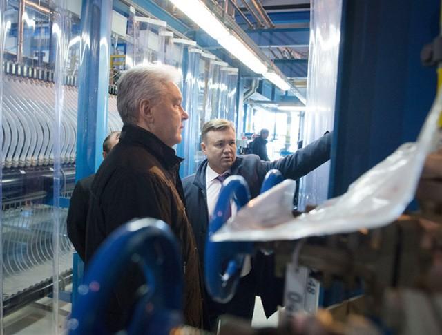 СергейСобянин на открытии завода по производству гипохлорита натрия