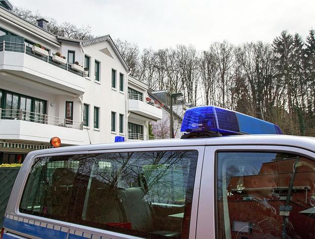 Полиция Германии у дома второго пилота Airbus A320 Андреаса Любитца