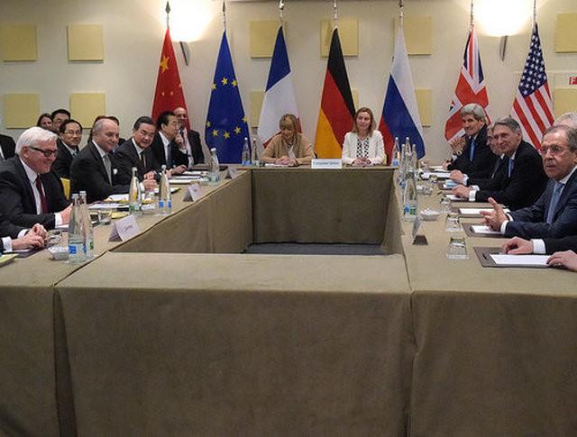 Заседание членов Совбеза ООН и Германии