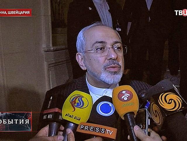 Глава МИД Ирана Джавад Зариф
